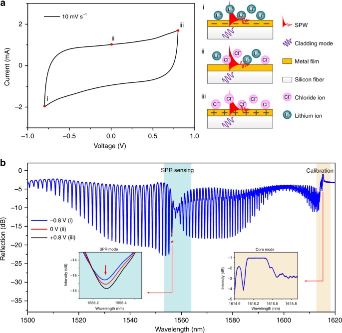 In Situ Plasmonic Optical Fiber Detection Of The State Of Charge Of Supercapacitors For Renewable Energy Storage Light Science Applications