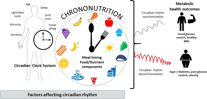 Chrononutrition in the management of diabetes