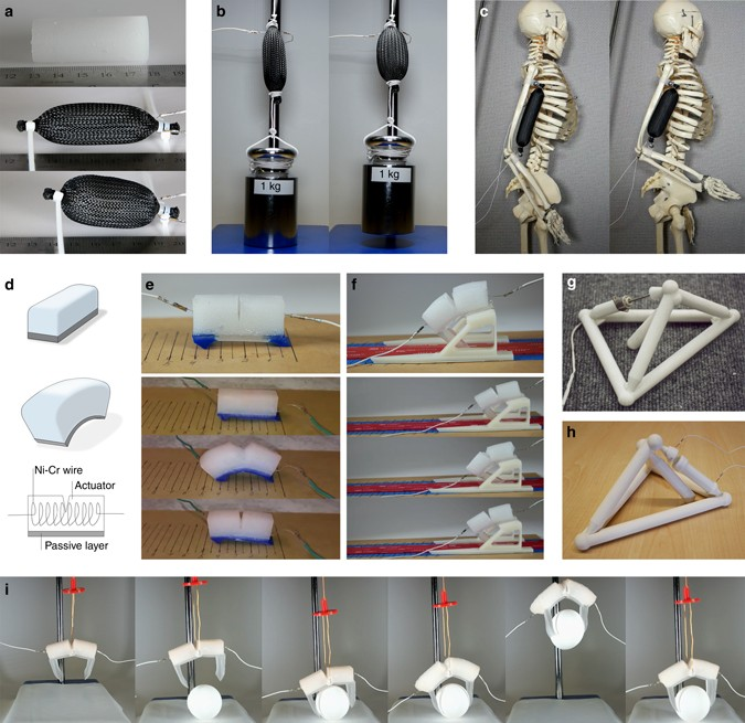 Soft material for soft actuators   Nature Communications