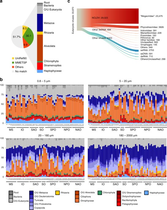 a global ocean atlas of eukaryotic genes nature communications