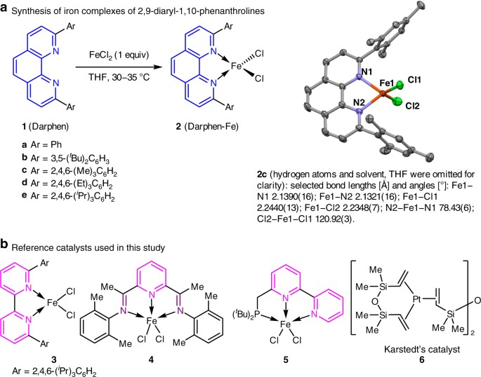 Ligands With 110 Phenanthroline Scaffold For Highly Regioselective