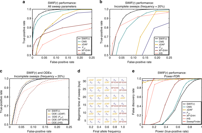 Localization of adaptive variants in human genomes using averaged
