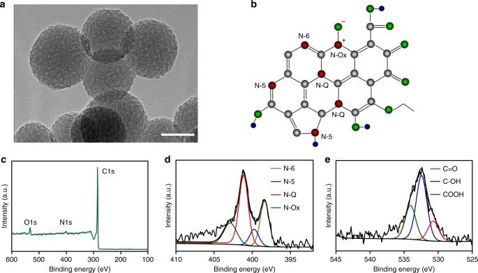 In vivo guiding nitrogen-doped carbon nanozyme for tumor