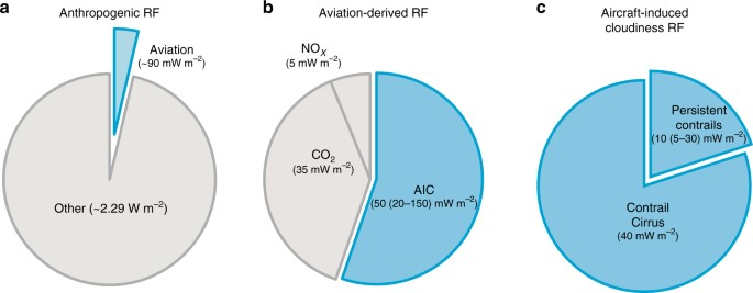 Formation and radiative forcing of contrail cirrus | Nature