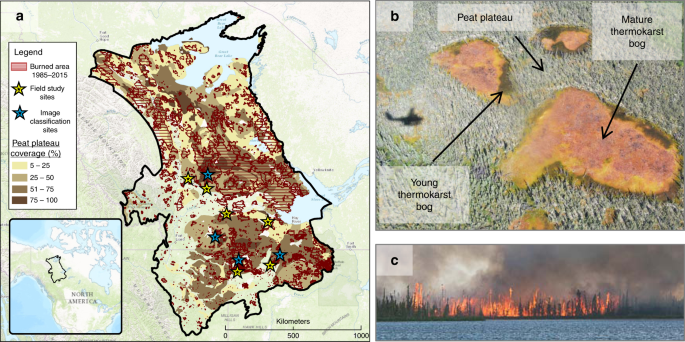 Wildfire As A Major Driver Of Recent Permafrost Thaw In Boreal