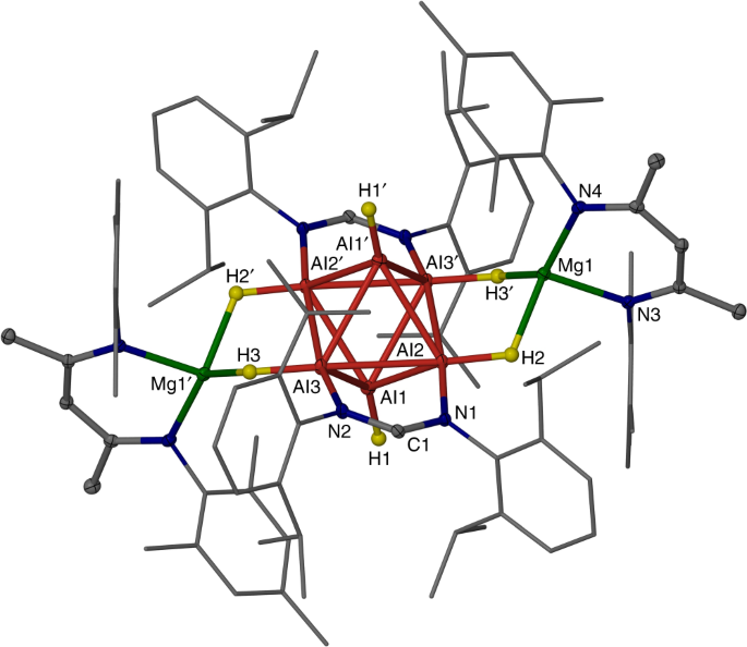 Anion Stabilised Hypercloso Hexaalane Al 6 H 6