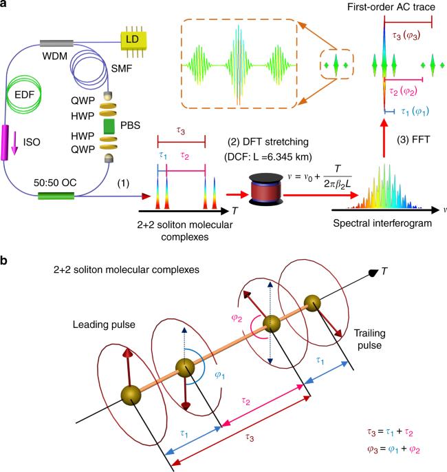 Optical soliton molecular complexes in a passively mode-locked fibre laser