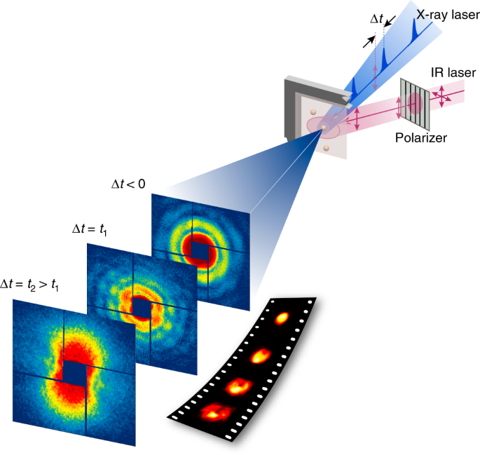 Direct observation of picosecond melting and disintegration of