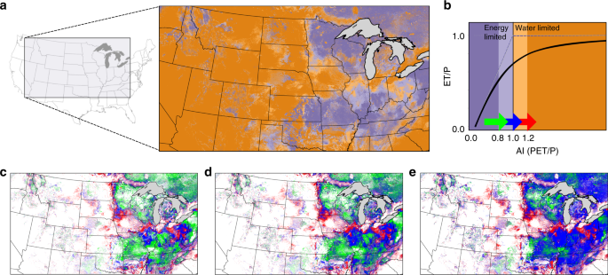 Evapotranspiration depletes groundwater under warming over the contiguous United States