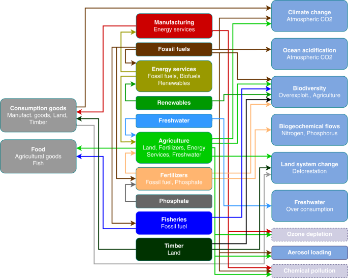 Carbon pricing and planetary boundaries