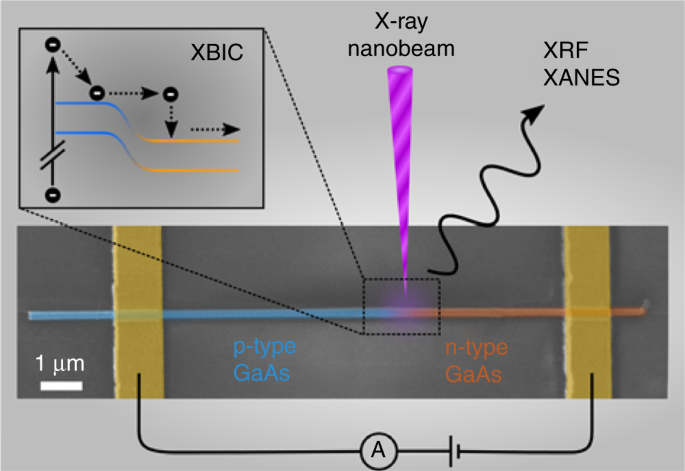 Hot electrons in a nanowire hard X-ray detector