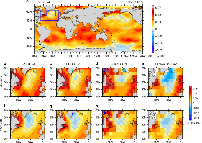 Indian Ocean warming as a driver of the North Atlantic warming hole