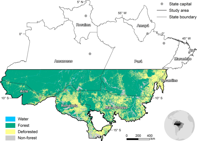 Deforestation reduces rainfall and agricultural revenues in the Brazilian Amazon
