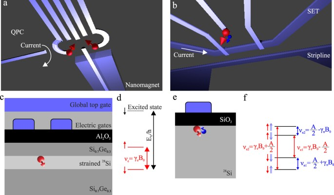 Interfacing Spin Qubits In Quantum Dots And Donorshot Dense And