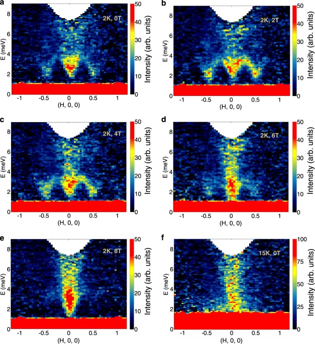 Excitations In The Field Induced Quantum Spin Liquid State Of A Rucl