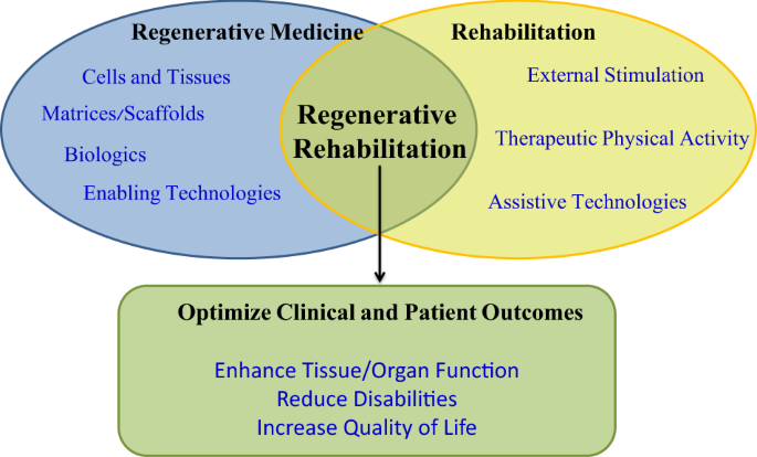 The convergence of regenerative medicine and rehabilitation: federal