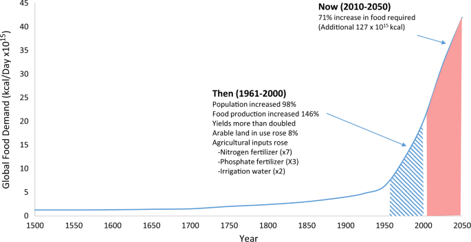 Review Shows Big Increase In Science >> The Science Of Food Security Npj Science Of Food