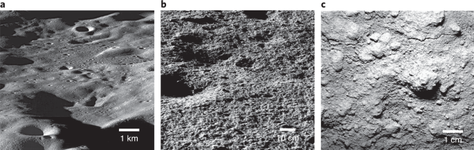 Micro cold traps on the Moon | Nature Astronomy