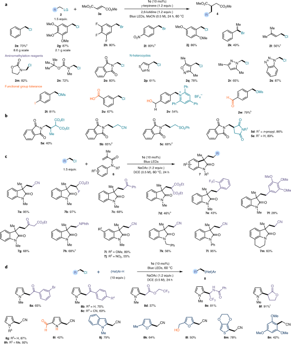 Photochemical Generation Of Radicals From Alkyl Electrophiles Using
