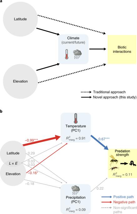 Global predation pressure redistribution under future climate change