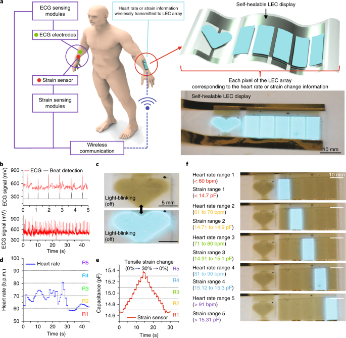 An integrated self-healable electronic skin system fabricated via ...