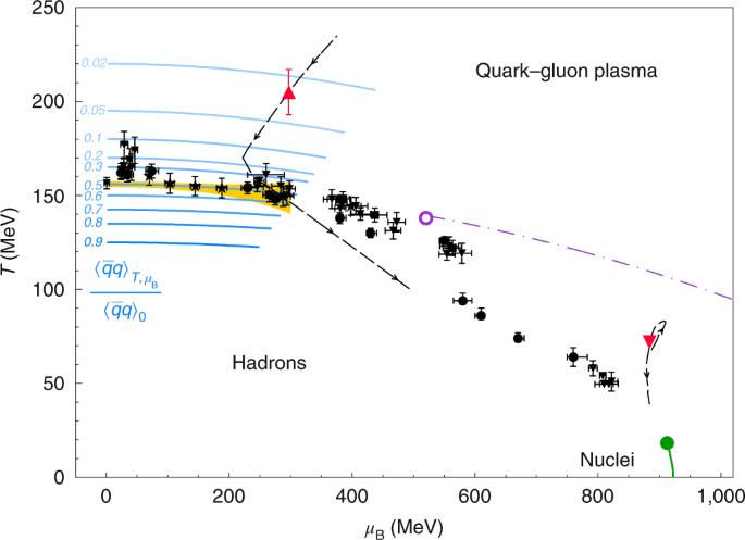 Probing dense baryon-rich matter with virtual photons | Nature Physics