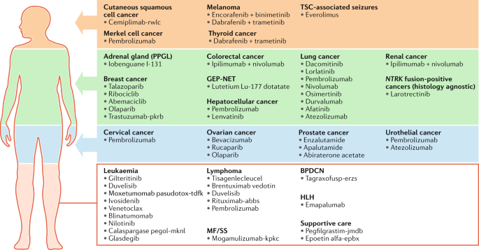 Approvals in 2018: a histology-agnostic new molecular entity