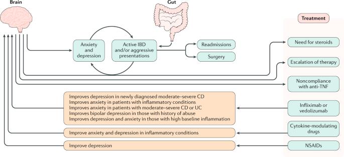 Antidepressants in inflammatory bowel disease