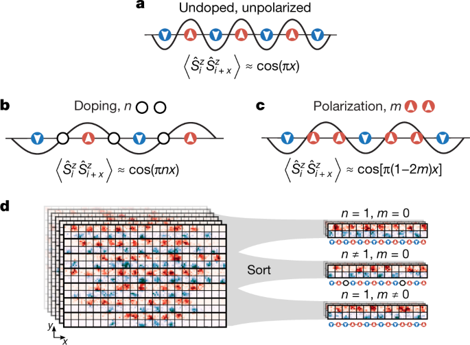 Direct observation of incommensurate magnetism in Hubbard chains