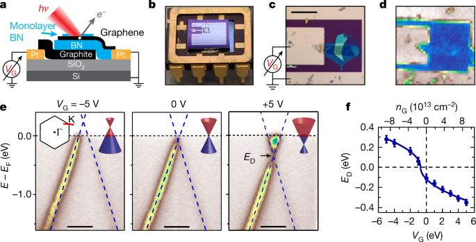Visualizing electrostatic gating effects in two-dimensional