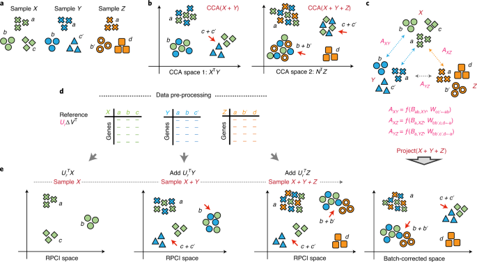 Robust integration of multiple single-cell RNA sequencing datasets using a single reference space thumbnail