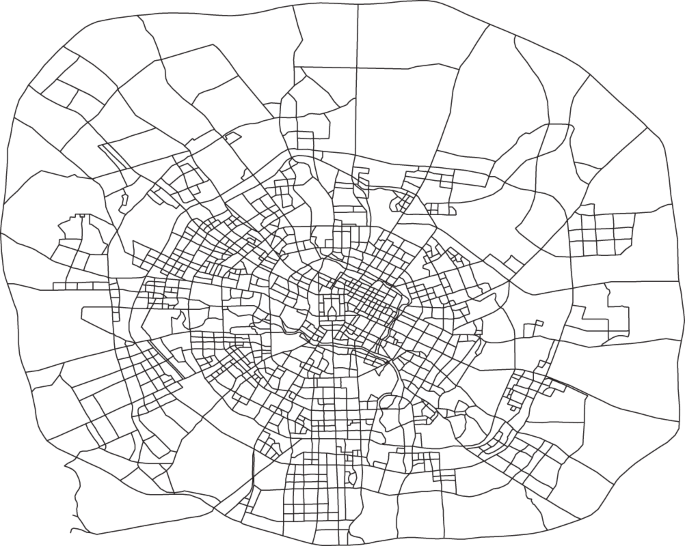Urban link travel speed dataset from a megacity road network