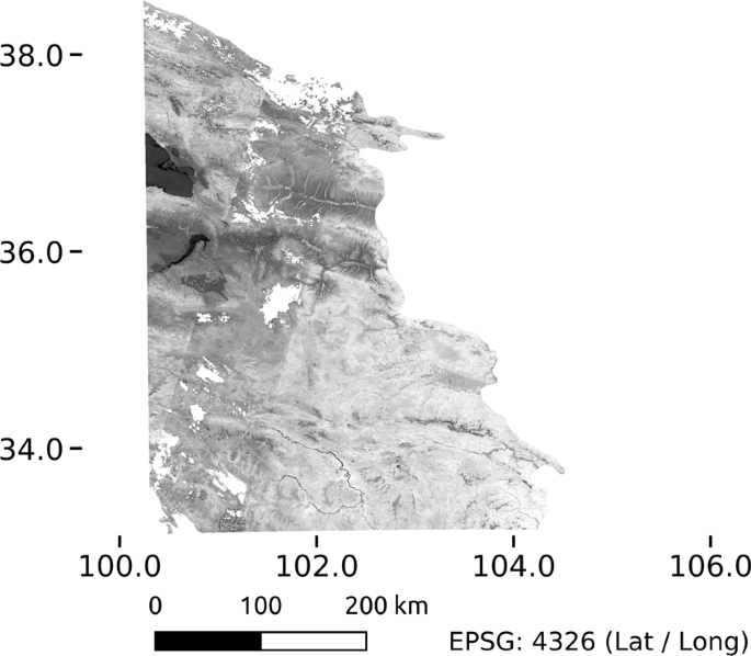 A Landsat-based vegetation trend product of the Tibetan Plateau for