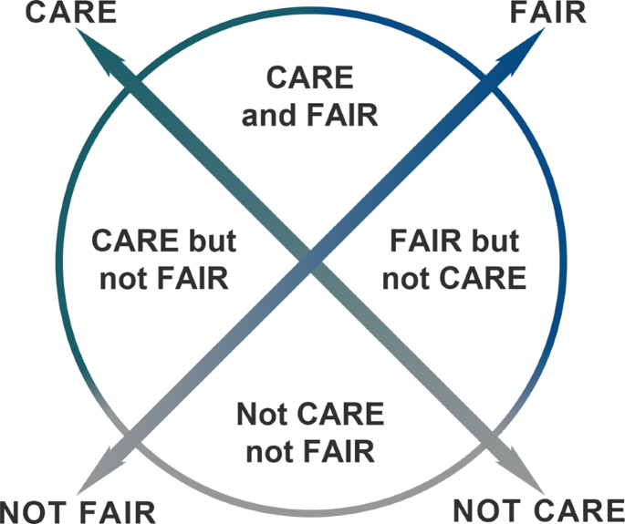Operationalizing the CARE and FAIR Principles for Indigenous data futures