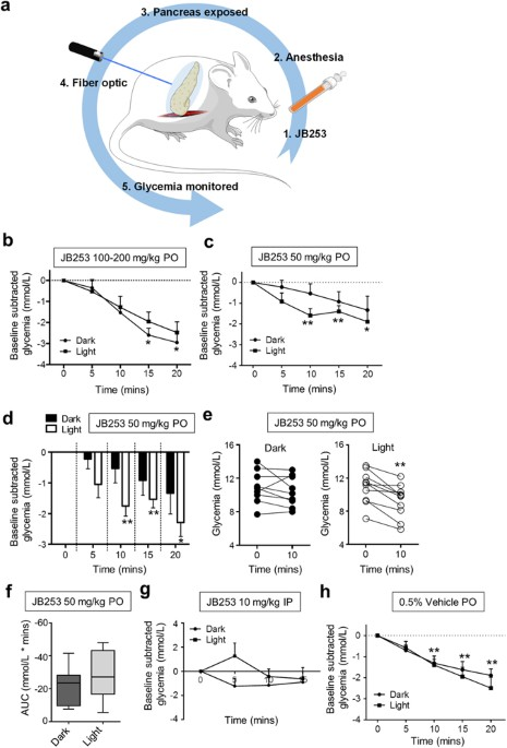 Remote control of glucose homeostasis in vivo using ...