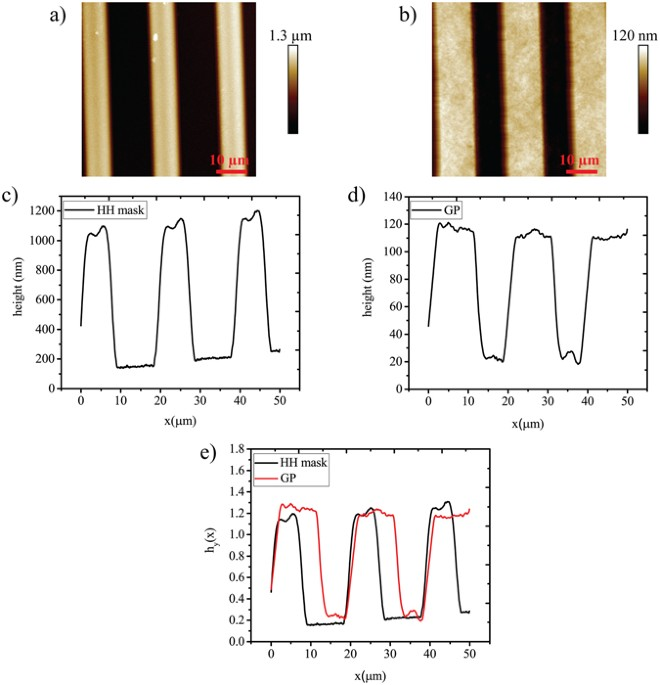 Parylene C topographic micropattern as a template for patterning ...