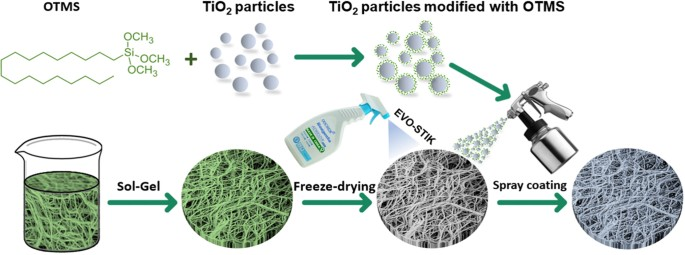 A Robust Superhydrophobic Tio 2 Nps Coated Cellulose