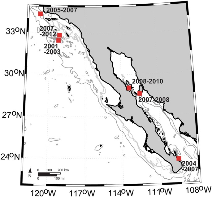 Fin Whale Song Variability In Southern California And The Gulf Of