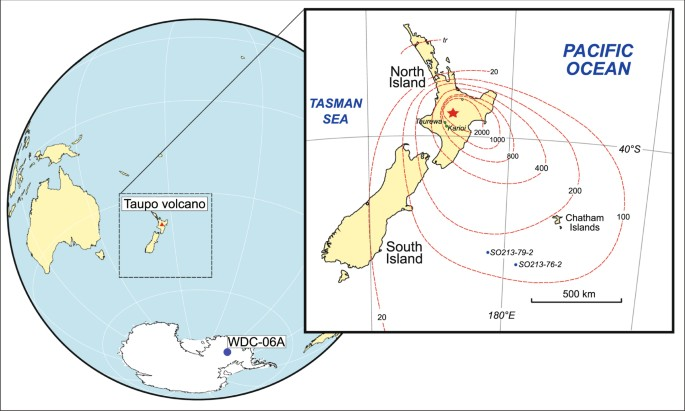 New Zealand supereruption provides time marker for the Last Glacial ...