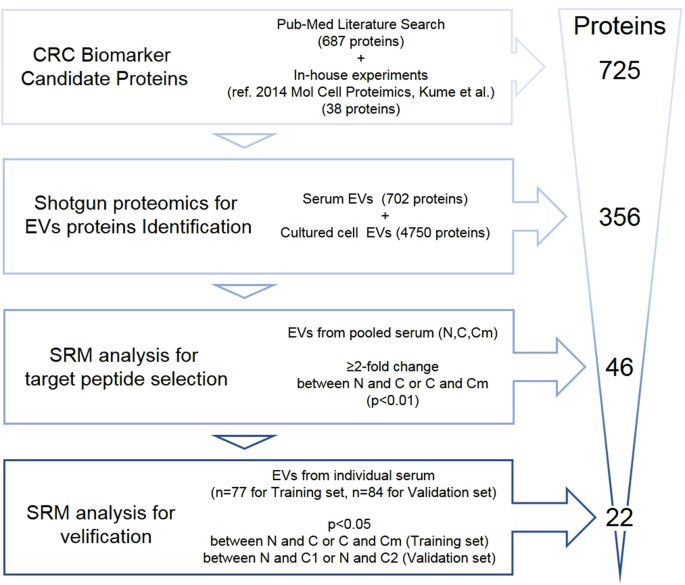 Quantitation Of Putative Colorectal Cancer Biomarker Candidates In Serum Extracellular Vesicles By Targeted Proteomics Scientific Reports