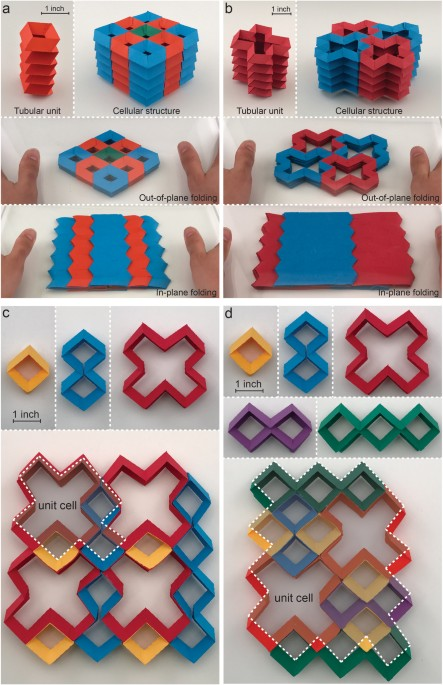 Origami Based Building Blocks For Modular Construction Of Foldable