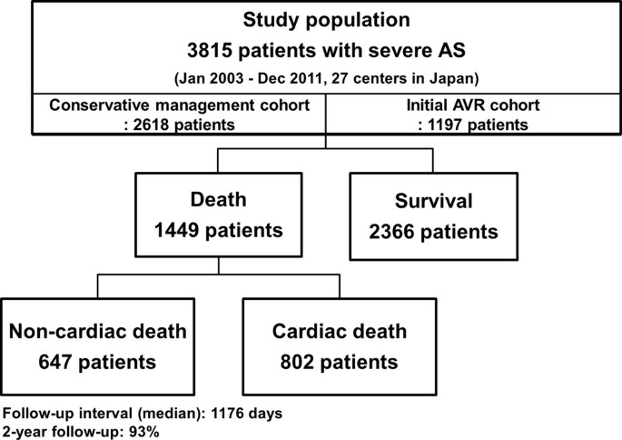 Causes of Death in Patients with Severe Aortic Stenosis: An