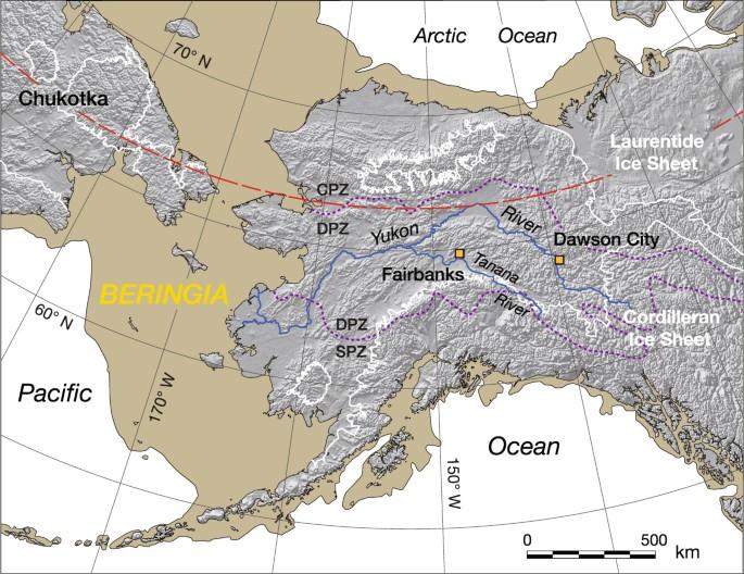 Impact-related microspherules in Late Pleistocene Alaskan and Yukon on vancouver peninsula map, windsor peninsula map, ungava peninsula map, selawik national wildlife refuge alaska map, arctic peninsula map, mountains labrador peninsula on a map, all animal refuges in alaska map,