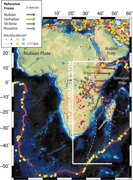 Concept 2 Model D >> A Geodetic Strain Rate Model for the East African Rift System | Scientific Reports