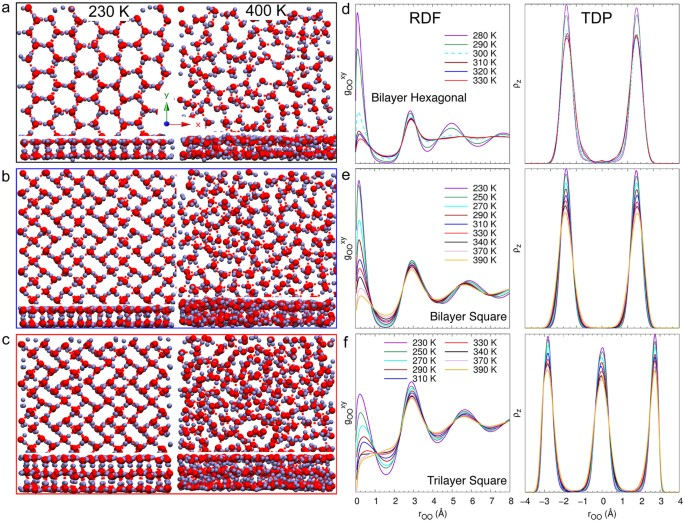 Phase transitions of ordered ice in graphene nanocapillaries
