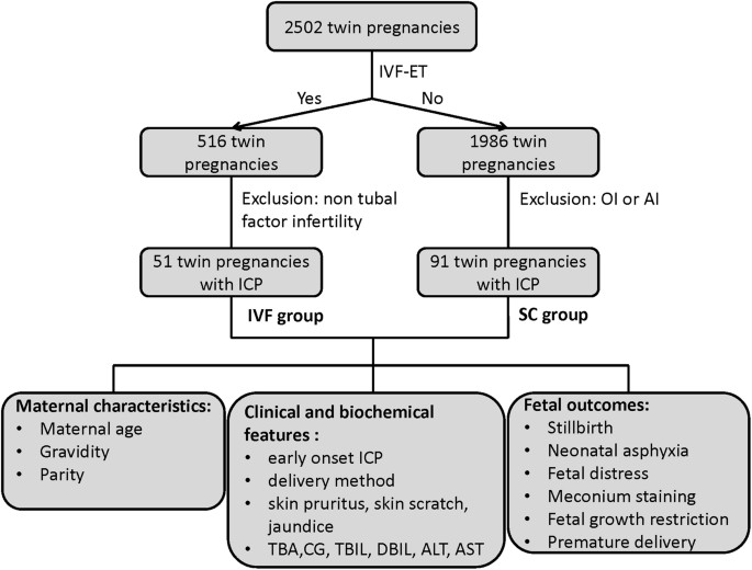 Impacts of different methods of conception on the perinatal outcome