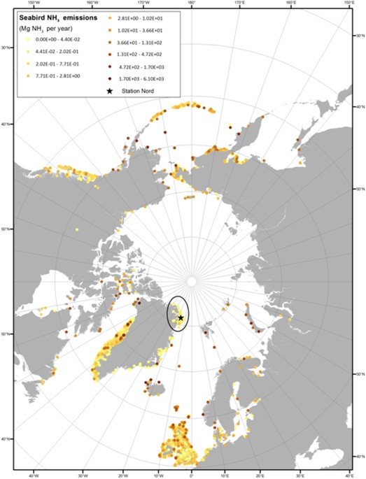 Regions of open water and melting sea ice drive new particle ...