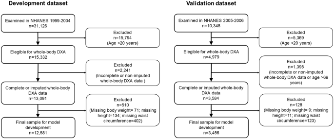 Relative Fat Mass Rfm As A New Estimator Of Whole Body Fat