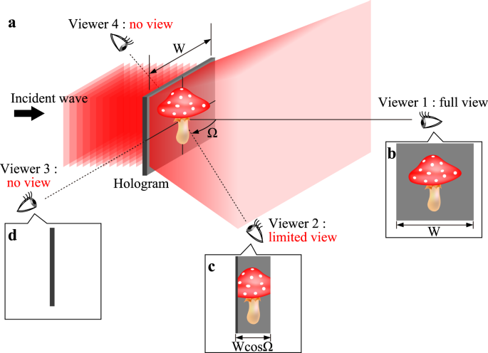 Super Wide Viewing Zone Holographic 3d Display Using A