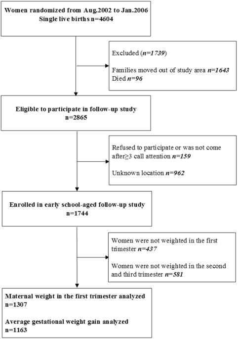 Effect Of Maternal Pre Pregnancy Underweight And Average Gestational
